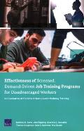Effectiveness of Screened, Demand-Driven Job Training Programs for Disadvantaged Workers: An Evaluation of the New Orleans Career Pathway Training