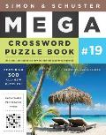Simon & Schuster Mega Crossword Puzzle Book 19