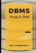DBMS: Simply In Depth