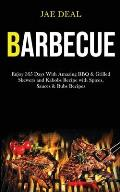 Barbecue: Enjoy 365 Days With Amazing Bbq & Grilled Skewers and Kabobs Recipe With Spices, Sauces & Rubs Recipes