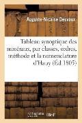 Tableau Synoptique Des Min?raux, Par Classes, Ordres d'Apr?s La M?thode Et La Nomenclature d'Hauy