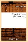 Monsieur Lecoq (Ed.1884-1885)