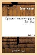 Opuscules Entomologiques. Cahier 13
