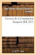 Examen de la Constitution Fran?oise