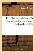 Inventaire Des Documents