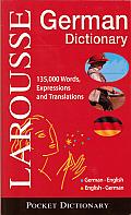 Larousse Pocket Dictionary German English English German