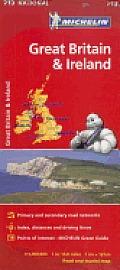 Michelin Great Britain & Ireland Map