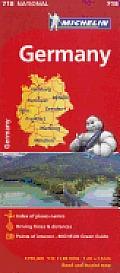 Michelin Map Germany