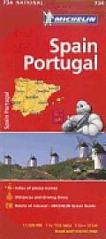 Michelin Spain & Portugal Map
