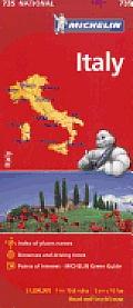 Michelin Italy Map