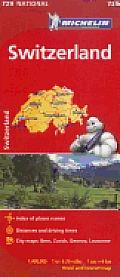 Switzerland Map 10th Edition