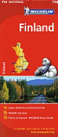 Michelin Finland Map 6th Edition