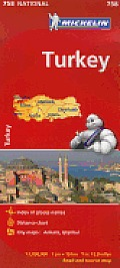 Turkey Map 2nd Edition