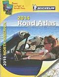 Michelin 2014 Road Atlas North America