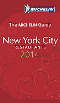MICHELIN Red Guide New York City 2014 Restaurants & Hotels 9th Edition