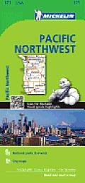 Michelin USA Pacific Northwest Map 171