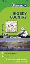 Michelin USA Big Sky Country Map 172