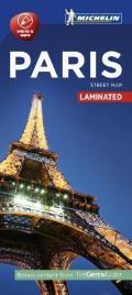 Michelin Paris City Map Laminated Map