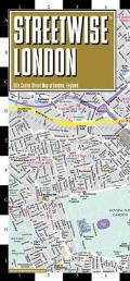 Streetwise London Map Laminated City Center Street Map of London England
