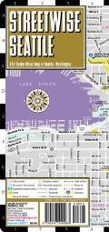 Streetwise Seattle Map