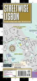 Streetwise Lisbon Map