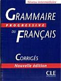 Grammaire Progressive Du Francais Corriges
