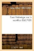 Essai Historique Sur Le Sacrifice