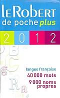 Le Robert De Poche Plus 2012