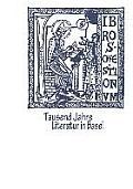 Tausend Jahre Literatur in Basel