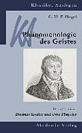 G. W. F. Hegel: Ph?nomenologie Des Geistes