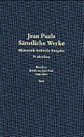 Jean Pauls S?mtliche Werke, Band 3.2, 1799 Bis 1800