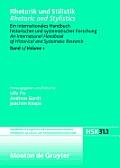 Rhetorik Und Stilistik / Rhetoric and Stylistics, Halbband 1, Handb?cher Zur Sprach- Und Kommunikationswissenschaft / Handbooks of Linguistics and Com