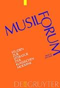 Musil-Forum, Band 30, Musil-Forum (2007/2008)