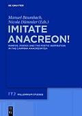 Imitate Anacreon!
