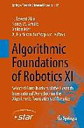 Algorithmic Foundations of Robotics XI: Selected Contributions of the Eleventh International Workshop on the Algorithmic Foundations of Robotics