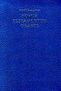 Greek New Testament Novum Testamentum Graece
