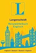 Langenscheidt Reisewoerterbuch Englisch