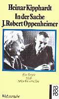 In Der Sache J Robert Oppenheimer