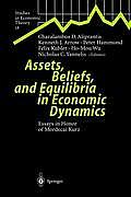 Assets, Beliefs, and Equilibria in Economic Dynamics: Essays in Honor of Mordecai Kurz