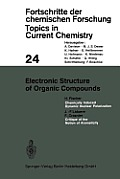 Electronic Structure of Organic Compounds
