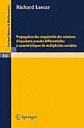 Propagation Des Singularites Des Solutions d'Equations Pseudo-Differentielles a Caracteristiques de Multiplicites Variables