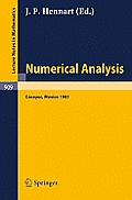 Numerical Analysis: Proceedings of the Third Iimas Workshop Held at Cocoyoc, Mexico, January 1981