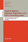 Applied Algebra, Algebraic Algorithms and Error-Correcting Codes: 16th International Symposium, Aaecc-16, Las Vegas, Nv, Usa, February 20-24, 2006, Pr
