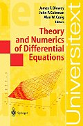 Theory and Numerics of Differential Equations: Durham 2000