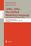 UML 2002 - The Unified Modeling Language: Model Engineering, Concepts, and Tools: 5th International Conference, Dresden, Germany, September 30 October