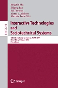Interactive Technologies and Sociotechnical Systems: 12th International Conference, VSMM 2006, Xi'an, China, October 18-20, 2006, Proceedings