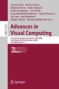 Advances in Visual Computing: Second International Symposium, Isvc 2006, Lake Tahoe, NV, USA, November 6-8, 2006, Proceedings, Part II