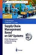 Supply Chain Management Based on SAP Systems Order Management in Manufacturing Companies