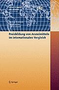 Preisbildung Von Arzneimitteln Im Internationalen Vergleich