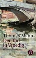 Der Tod In Venedig Und Andere Erzaehlungen Death in Venice & Other Stories
